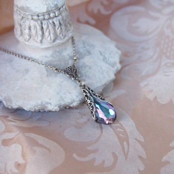 Pendentif féerique en cristal de Koh-I-Noor « violet/bleu »