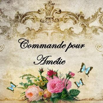 Parure de mariage pour Amélie